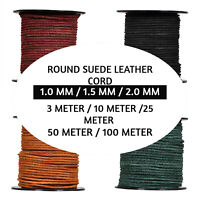 Xsotica Round Suede Leather Cord 1 MM