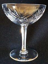 Coupe champagne H 12,2 cristal de lorraine taillé XX ème C 1930 France