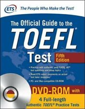 Official Guide To The Toefl Test With Dvd-rom, Fifth Edition Educational Testing