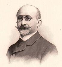 Portrait Docteur Ernest Mosny La Fère Aisne Médecine Hygiéniste