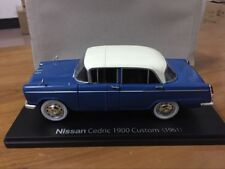 New 1:24 Scale Die-Cast Model Car - Nissan Cedric 1900 Custom 1961 - 2 door Open
