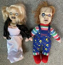 """Chucky Doll 13"""" And Bride Of 13"""" Child's Play PlushToy From Toyworks"""
