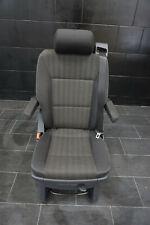 VW T6 Multivan Drehsitz Sitz Einzelsitz Schiebesitz Stoff Pandu ISOFIX Schwarz