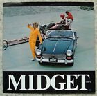 MG MIDGET Mk III USA Sales Brochure 1968 #M2-250m-3/68