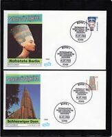 Alemania / Germany / 2 Sobres Primer Día - FDC año 1988