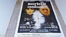 MORTELLE RANDONNEE ! adjani serrault  affiche cinema