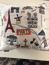 Cynthia Rowley Paris Themed Decorative Pillow