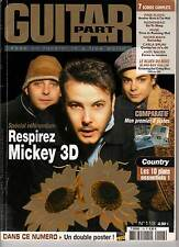"GUITAR PART #118 ""Mickey 3D,Beatles,Offspring,Machine Head"" (REVUE)"