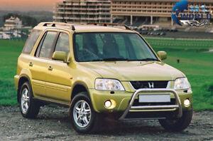 For HONDA CR-V CRV BULL BAR CHROME NUDGE PUSH A-BAR 60mm 1995-2001 OFFER NX1 NEW