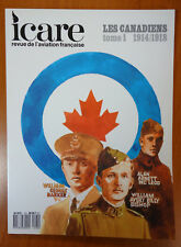 """ICARE n° 120 """"Les Canadiens 1914/1918 tome 1"""""""