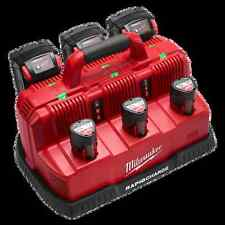 NEW MILWAUKEE 48-59-1807 M18 & M12 RAPID CHARGE CORDLESS  BAY BATTERY CHARGER