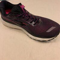 Brooks Womens Ghost 12 Running Shoes Purple 1203051B063 Low Top Sneakers 9.5 B