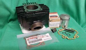 1971-72 Yamaha JT1/JT2 Mini-Enduro NOS CYLINDER, PISTON, BEARING, PIN & GASKETS