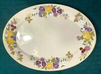 "Lenox Summer Harvest Pattern Special Large 16"" Serving Platter Fine China Exc."