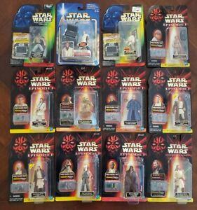 Star Wars Action Figure Lot (Yoda, Luke, Obi-Wan, Anakin, etc)