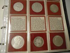 CSSR TSCHECHOSLOWAKEI 1918/1974 - Sammlung mit 46 Münzen in Silber, stgl. kplt.