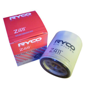 Ryco Oil Filter for Subaru Liberty BN 2.5L Flat4 2014-On Z411