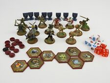 HeroScape: Board Game lot 13 Figures, Dice, Glyph's & Markers Lot Loose Pieces