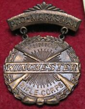 Winchester Junior Rifle Corps Pro-Marksman Badge, ca. 1930s
