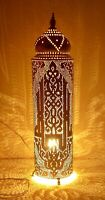 Handmade Moroccan Brass Floor Lamp Shades