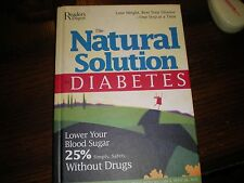 The Natural Solution to Diabetes : Featuring the 10 Percent Plan by Richard...