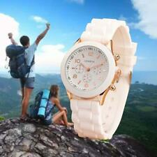 white 2017 Women Men Unisex Kids Quartz Fashional Wrist Watch Wristwatches GA