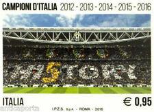 Francobollo  JUVE ITALIA HI5TORY celebrativo JUVENTUS Campione Italia 2015/2016