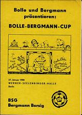 1990 HT Bergmann Bristle Berlin, BFC Dynamo, Blue-White 1890, Hertha BSC, KWO