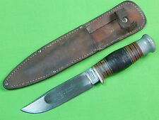RARE British English WADE BUTCHER Sheffield Sloan's Military Shop Fighting Knife