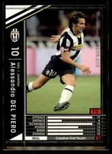 Panini/Sega (Japan) WCCF (2008-2009) Alessandro Del Piero (Juventus) No. 271