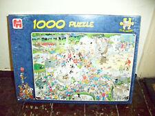 """JUMBO-Puzzle -  von Jan v. Haasteren """"Der Tiergarten"""" - 1.000 Teile - 68 x 49 cm"""