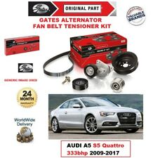 GATES Alternatore Tendicinghia Ventilatore Kit per AUDI A5 S5 quattro 333bhp