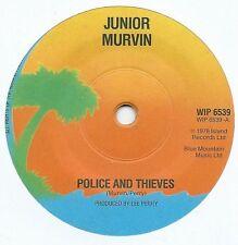 """JUNIOR MURVIN - Police & Thieves (Rare Label/Pressing) 1976 Reggae Vinyl 7"""""""