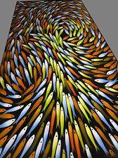 Fish Jane Crawford original fishing Modern Art 100cm  Canvas hand painted