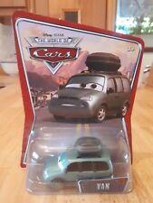 Disney Pixar Cars - Van - Rare World of Cars card.
