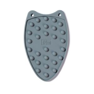 Grey Silicone Iron Rest for Mini Iron - Sewing Quilting Patchwork Prym 611909