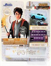 Harry Potter 2 Diversi Mini Models Car 4cm Ford Anglia & Knight Bus Nano Jada