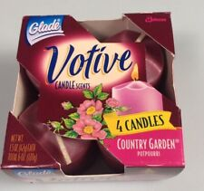 Glade Votive Candles Country Garden wedding dinner party hostess gift