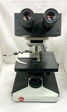 Leitz Laborlux S Microscope With 4 Objectives 4x 10x 40x 100x