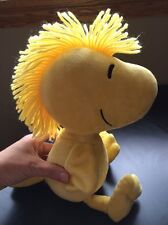"WOODSTOCK Kohls Cares For Kids 13"" Plush Bright Yellow Bird Snoopy Peanuts SOFT"