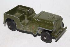 Tootsietoy 1940's WIllys Army Jeep, Nice Original, Lot #1