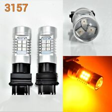 T25 3157 3057 4157 High Peformance Auto 21 SMD LED Amber Front Signal K1 A