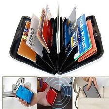 RFID Block Aluminium Holder Security Wallet Bank Card Credit Card Hard Case xy