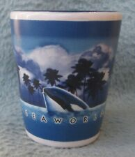 Shamu The Killer Whale Sea World Souvenir Shot Glass