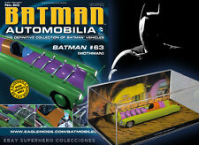 COLECCION COCHES DE METAL ESCALA 1:43 BATMAN AUTOMOBILIA Nº 60 MOTHMAN