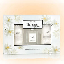 Philosophy The Lightness Of Grace Set 3 Pc. EDT+Gel+Lotion Gift Boxed New