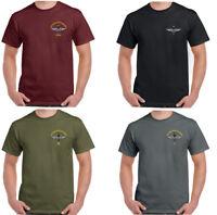 The Parachute Regiment Mens T-Shirt Para Regt Paratrooper Paras Airborne Chest