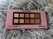 VIOLET VOSS HG Fun Sized Eyeshadow Palette 10 Shades Metallic Satin Matte BNIB