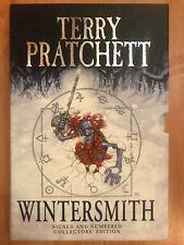Wintersmith signed numbered to 1000slipcase limited Terry Pratchett Discworld