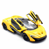1/24 Scale Mclaren P1 Supercar Model Car Diecast Vehicle Gift Collection Yellow
